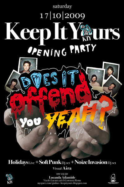 Keep-It-Yours-Opening-Party-LOCANDINA