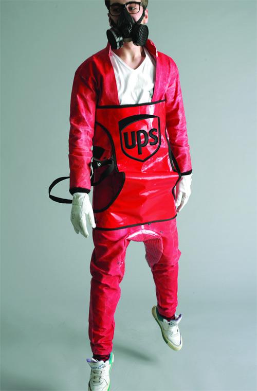 Kristian Guerra, immagine del modello Delivery - vincitore dell'Ups Fashion & Design Award