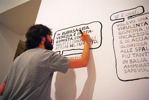 """""""Complotti notturni"""" di David B. e """"Diario di un vizio"""" di Paolo Bacilieri. - courtesy Bilbolbul"""