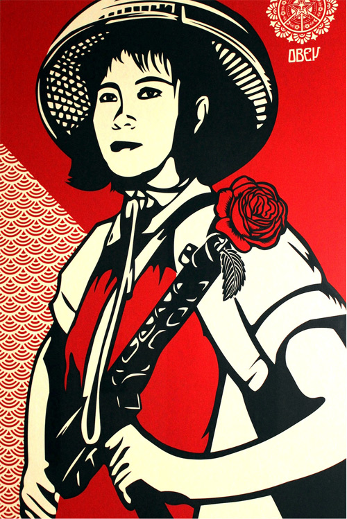 Peace and Revolution by Obey