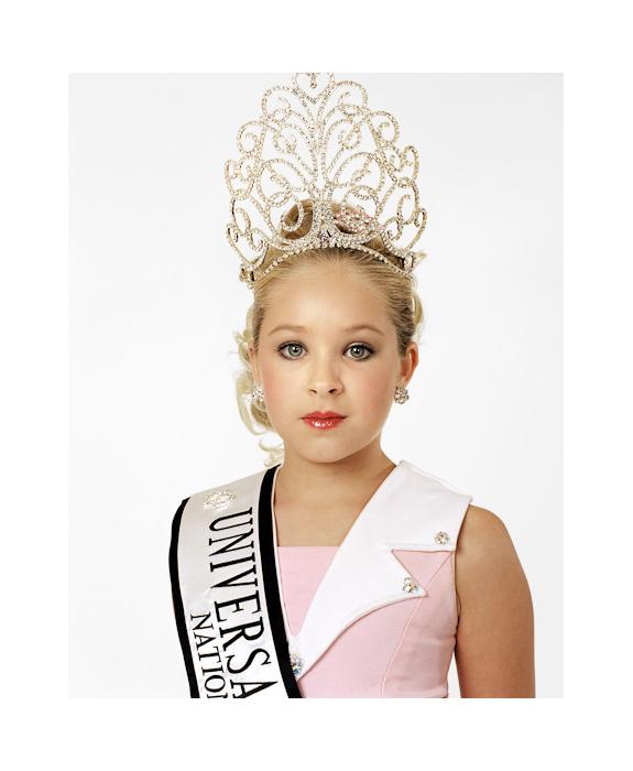 Katie 9 anni, Miss Texas