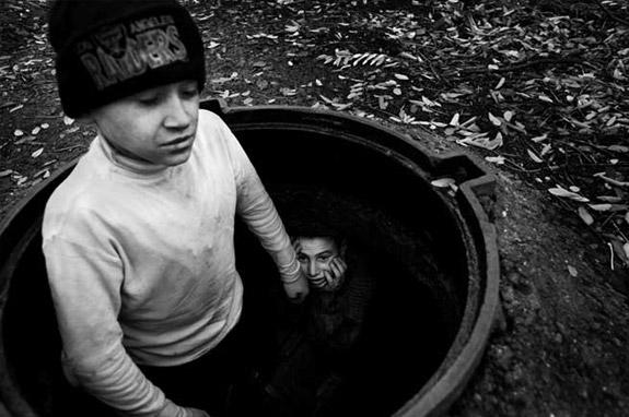 Ukraine Street Kids by David Gillanders