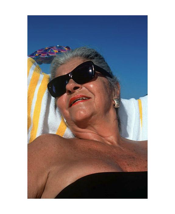 Sunbathers by Simone Lueck