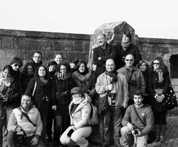 foto di gruppo con Augusto De Luca