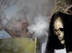 il rito della zaffata di fumo