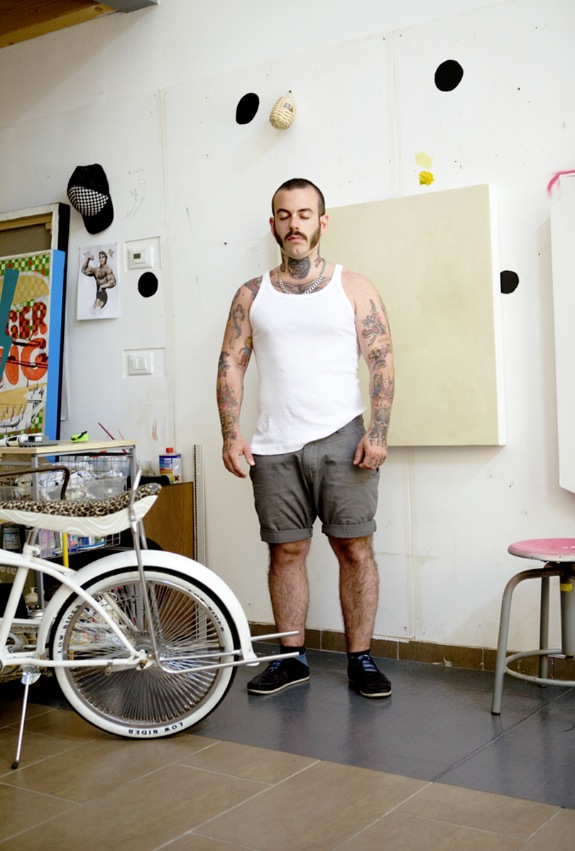 Massimo Gurnari, Artist/Tatooist 11:36 am Gurnary Family Headquarter, Milan