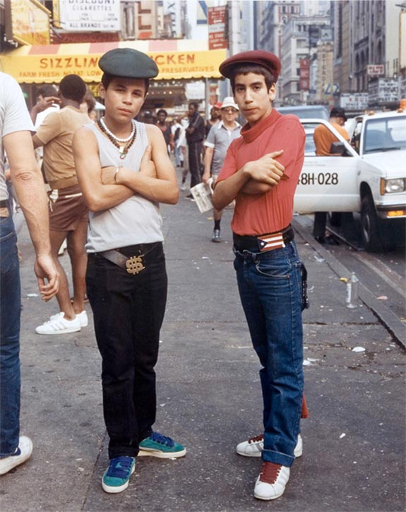 Back in the days by Jamel Shabazz