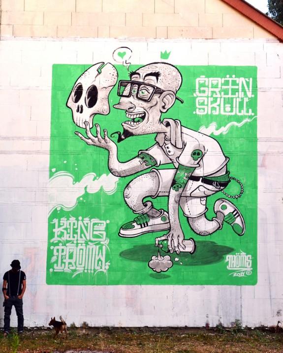 Thoms - I Love Green Skull King