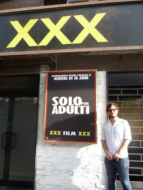 Stefano al Cinema Ulisse