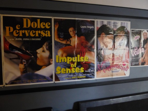 Locandine, Cinema Ulisse