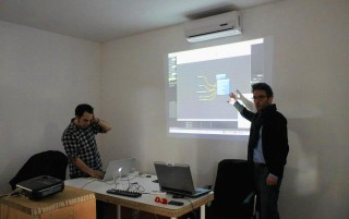 Donato Maniello e Luigi Console Workshop mapping