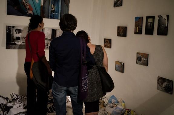 Mostra di Jessica Stewart alla sede di Elesatico - foto di Mario Covotta