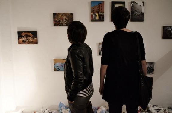 Mostra di Jessica Stewart alla sede di Elastico - foto di Mario Covotta