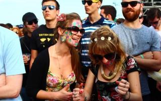 Fingere di essere a Woodstock