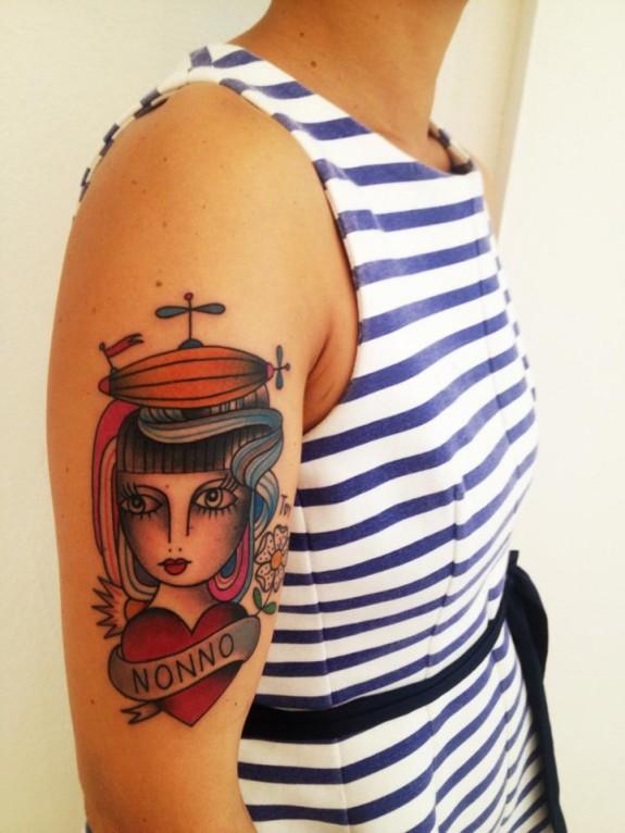 i tatuaggi di amanda toy al barcelona tattoo expo