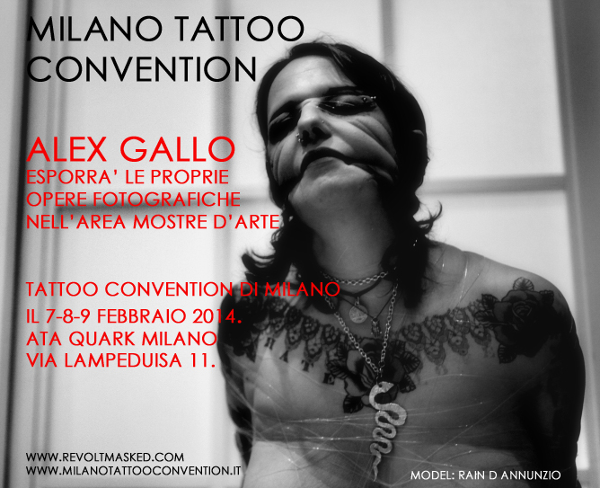 Alex Gallo goes Tattoo Convention of Milan