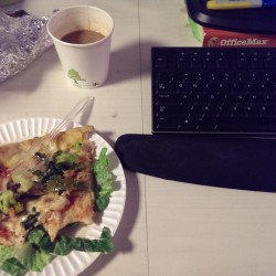 """""""If pizza sits on top of a bed of wilted lettuce, it's pretty much a salad. """""""