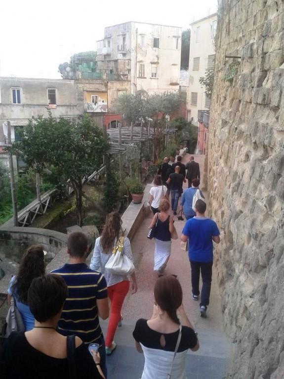 Ingresso alle Catacombe di San Gennaro