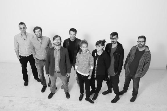Direttivo Shape - da sinistra: Edoardo Mazzilli, Andrea Giotti, Francesco Salizzoni, Gianluca Giangiobbe, Federica Patti, Marcella Loconte, Antonio Puglisi e Marco Ligurgo