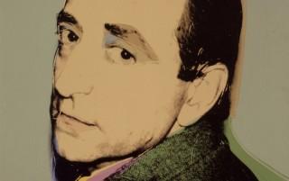 Andy Warhol, Lucio Amelio, 1975. Acrilico e serigrafia su tela. Courtesy Collezione Privata, Napoli.