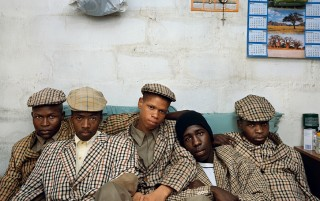 Loyiso Mayga, Wandise Ngcama, Lunga White, Luyanda Mzantsi, Khungsile Mdolo after their initiation ceremony, Mthatha, 2008 - Kin