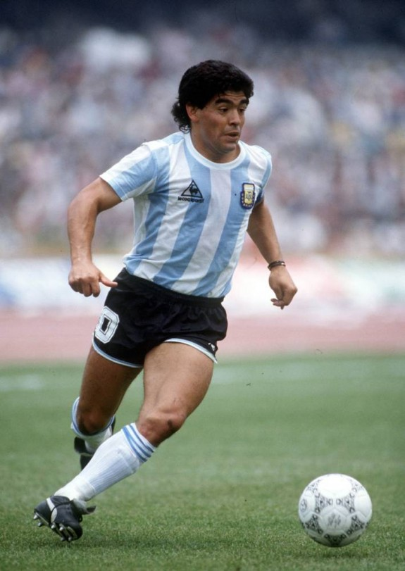 1986 World Cup Finals, Mexico City - ph Bob Thomas