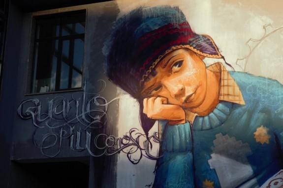 El Niño de las Pinturas, Urban Area 2015, aDna Collettivo