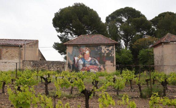 Retrato de Maria con Domingo, Roujan, France - Manolo Mesa