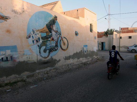 Djerbahood Poject, Tunisia - Sebas Velasco