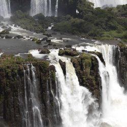 Cascate de Iguazu - Argentina stampa su tessuto pearl 180x209 15 BASSA DEFINIZIONE