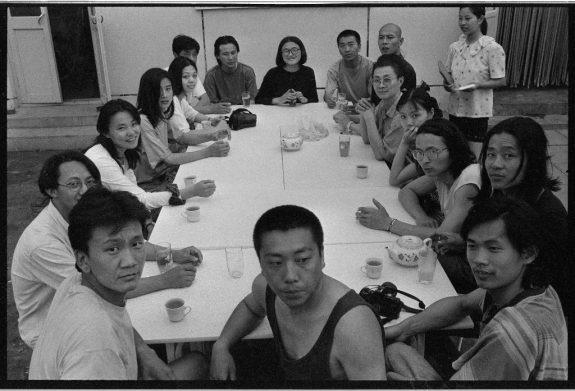 Beijing Photographs 1993-2003, Last Dinner In East Village 1994