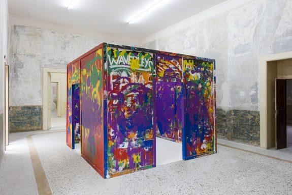 Allan Kaprow, Stockroom (1957 – 1964), 2016, Casa Morra – Archivio d'Arte Contemporanea, Napoli, Foto Amedeo Benestante ©Fondazione Morra