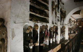 Catacombe dei Cappuccini, credits Juan Antonio F. Segal