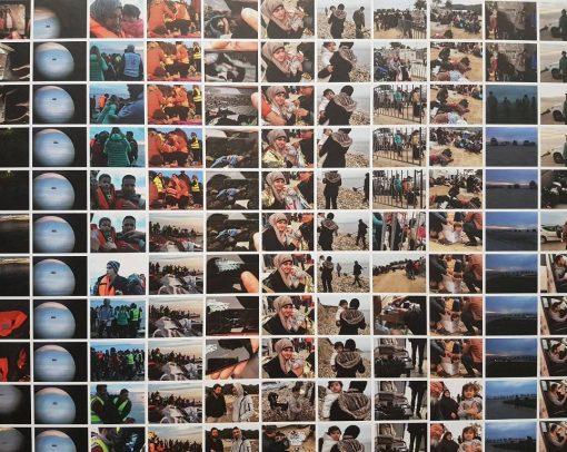 Refugee Wallpaper, credits Claudia Losini