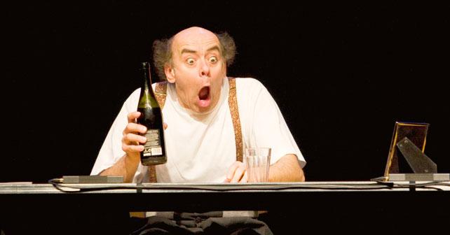 Paolo Nani in La lettera al Teatro del Lido di Ostia