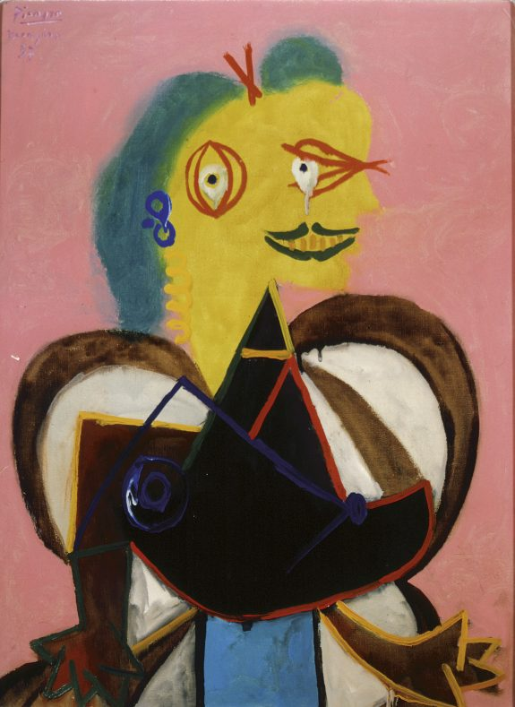Pablo Picasso, Retrat de Lee Miller vestida darlesiana