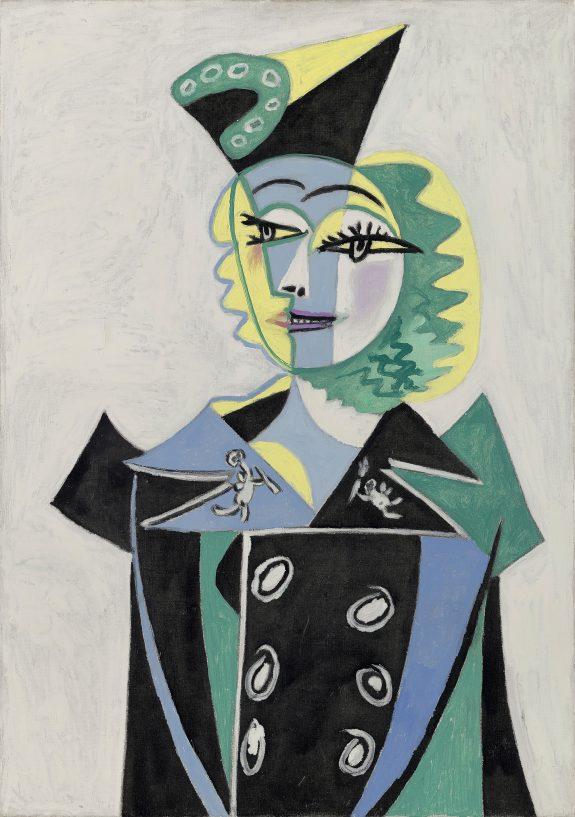Pablo Picasso, Retrat de Nusch Éluard