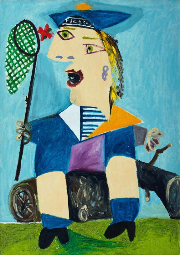 Pablo Picasso_Maya vestida de marinera