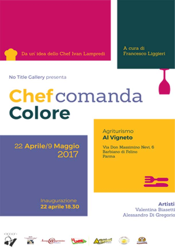Chef Comanda Colori a cura di No Title Gallery