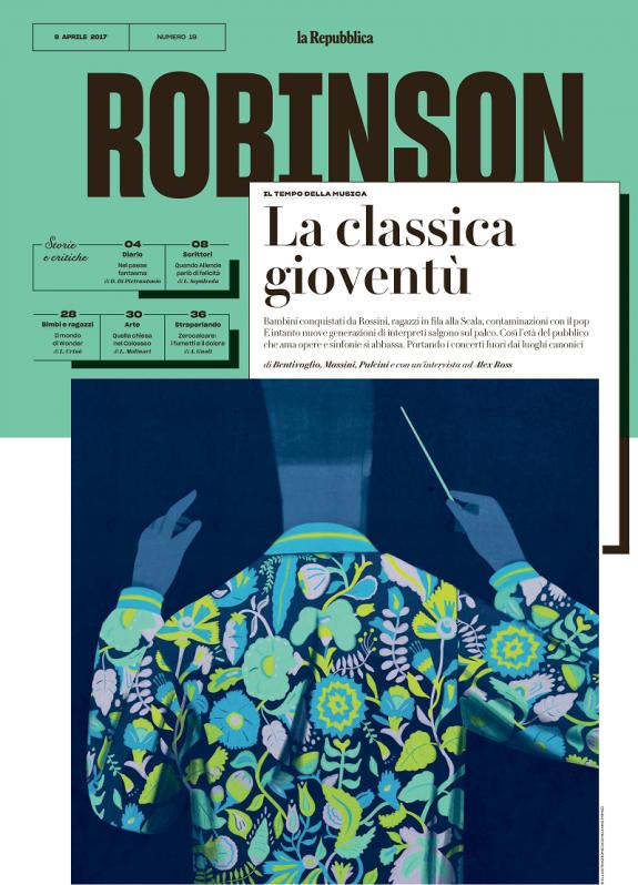 Copertina, numero del 09 aprile 2017