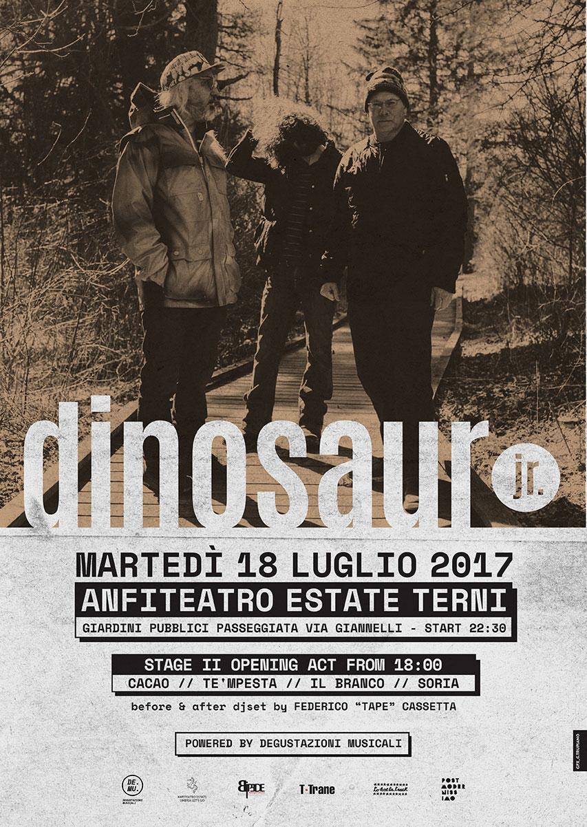 Dinosaur Jr. all'Anfiteatro Romano di Terni
