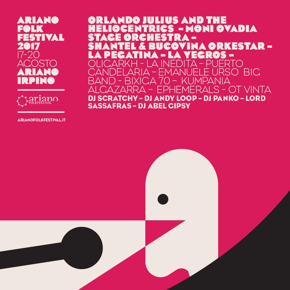 Ariano Folkfestival 2017
