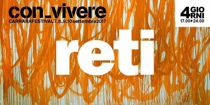 Con-vivere Carrara Festival 2017