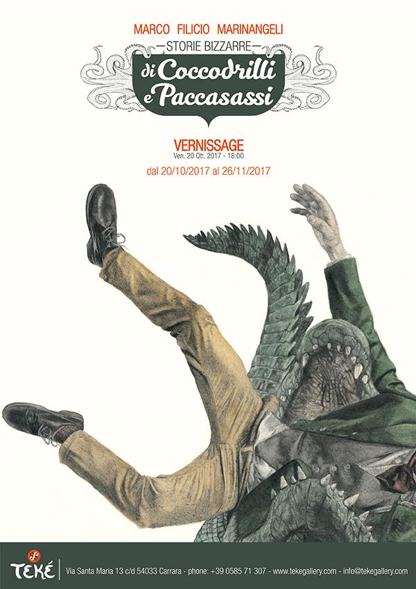 Storie bizzarre di Coccodrilli e Paccassassi | Personale di Marco Filicio Marinangeli