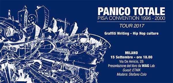 Panico Totale a Milano | Presentazione del libro da WAG Lab