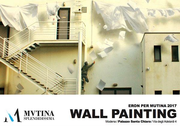 Ad perpetuam rei memoriam | Wall painting di ERON per MUTINA 2017