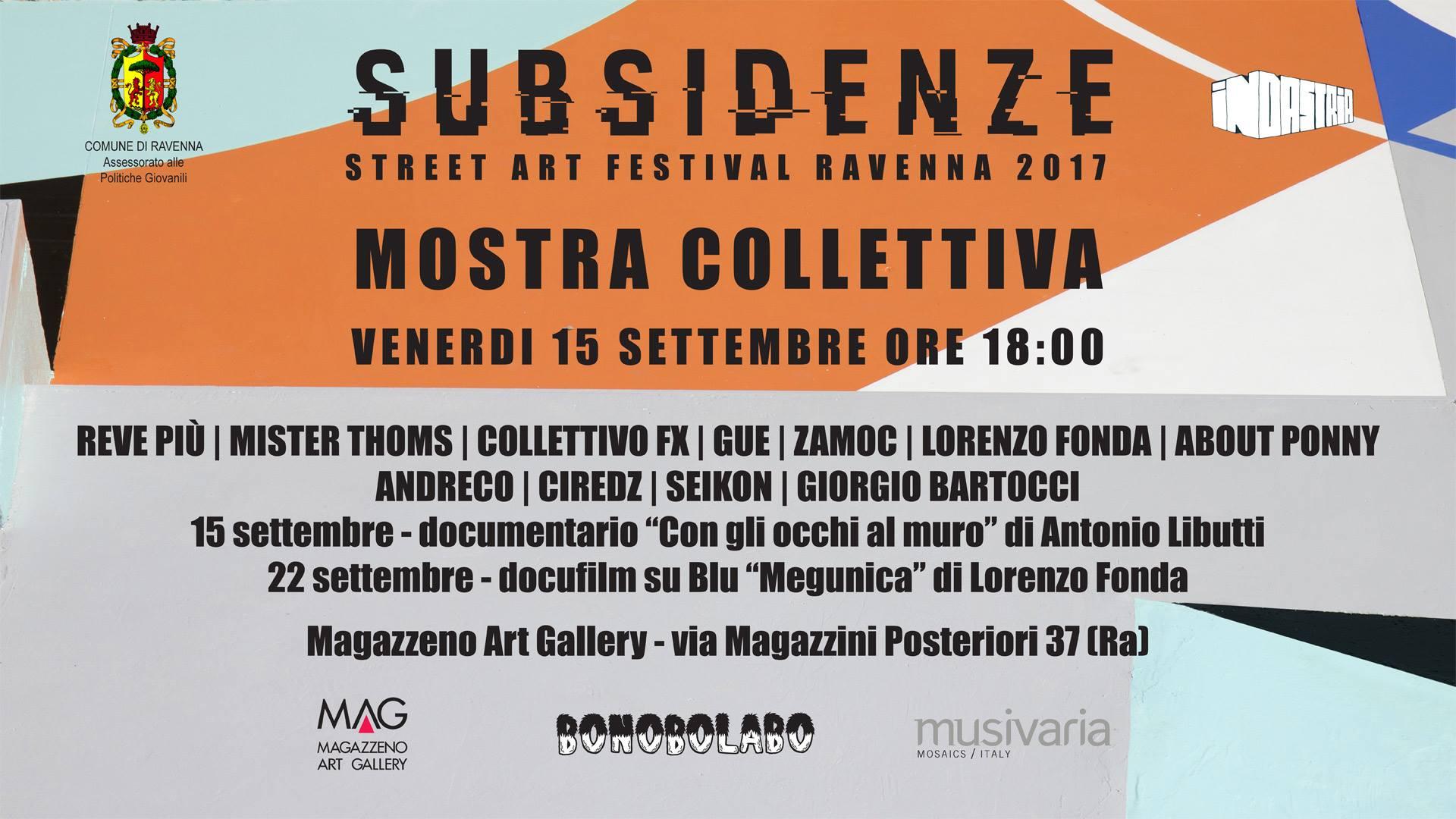Subsidenze 2017