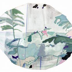 Federica Giulianini, Adonie, 2017, tecnica mista su carta, cm. 56x67 (Copia)
