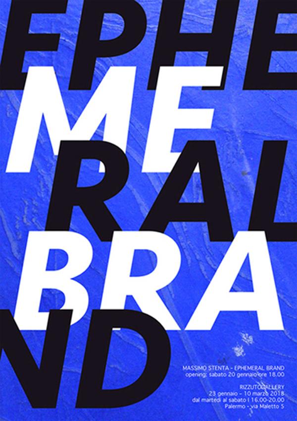 Ephemeral Brand | Massimo Stenta