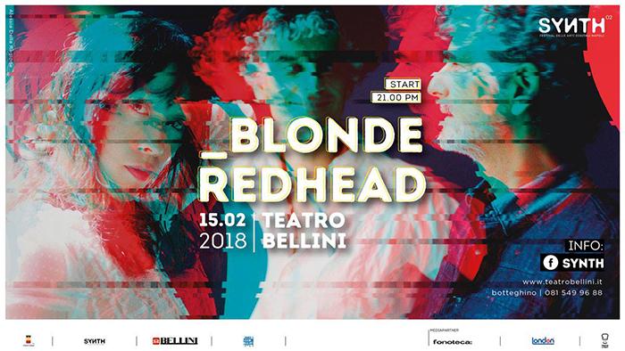 Blonde Redhead al Teatro Bellini